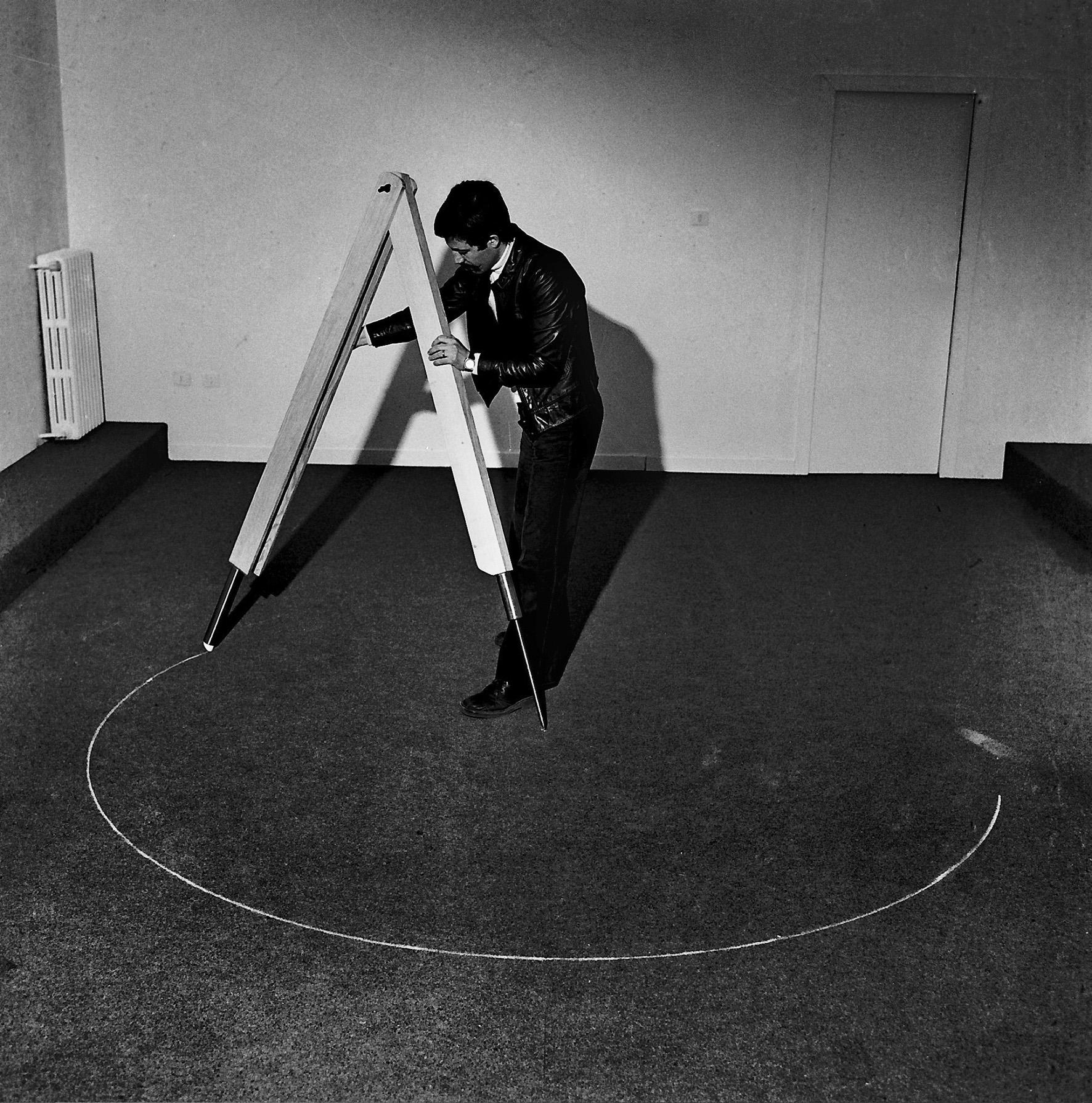 Ellisse: costruzione per punti, 1975 - 1