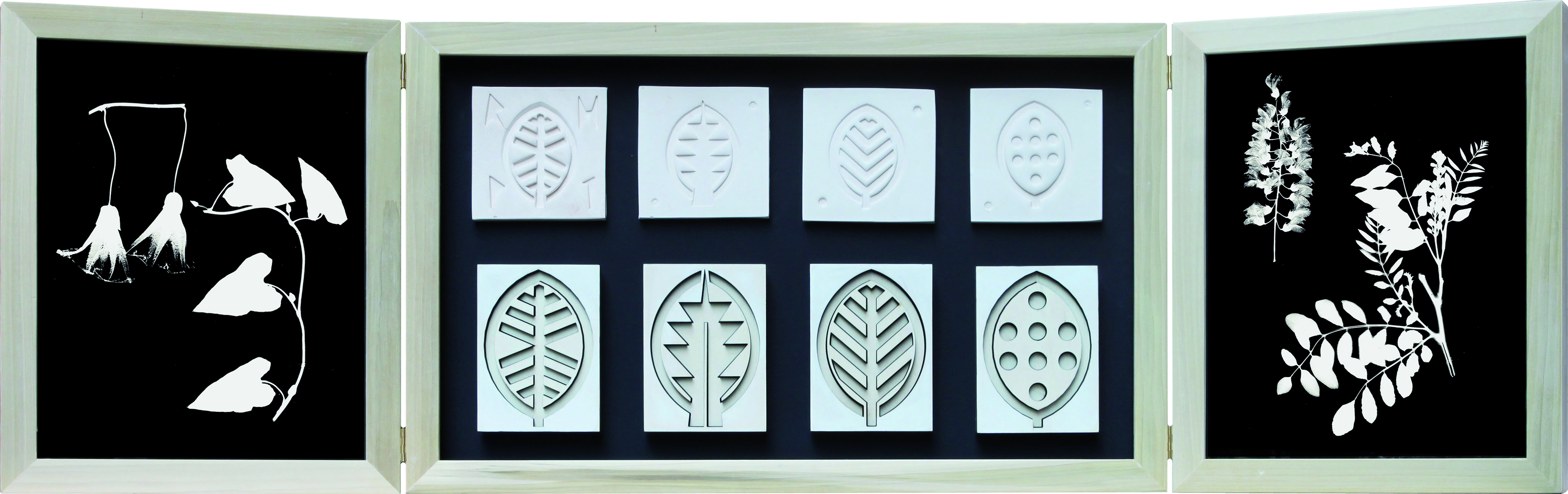 Progetto di foglie: confronto materico, 2015
