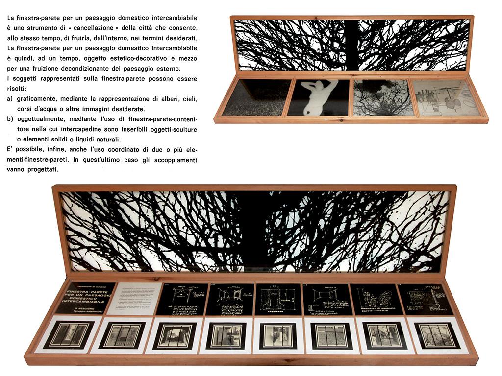 Finestra-Parete per un paesaggio domestico intercambiabile