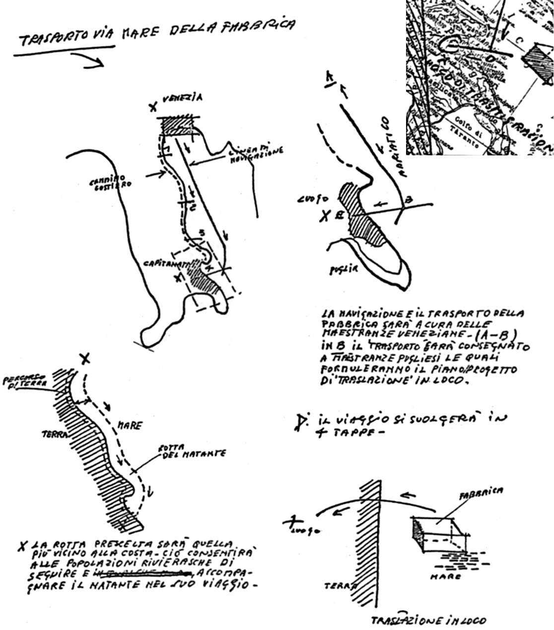 Fasi del Progetto di trasmigrazione del Molino - 4